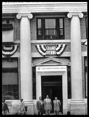Jackie Robinson and Freedom National Bank in Harlem