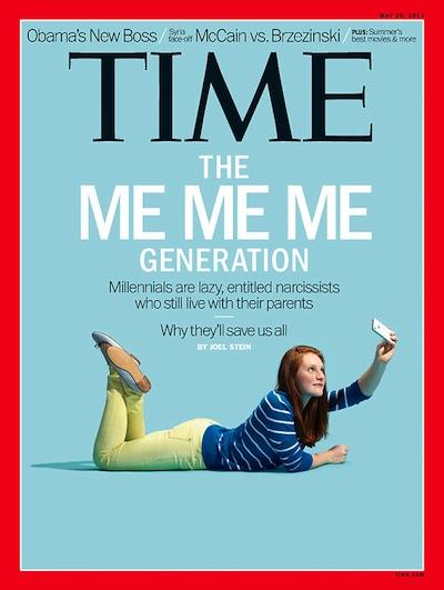 Time Magazine 2013 - ME ME ME